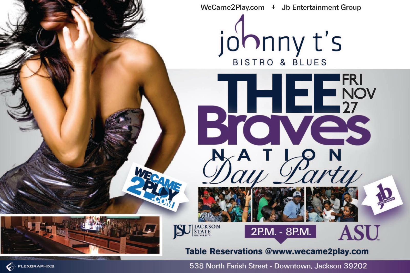 THEE Braves Day Party Fri. Nov. 27 @ Johnny T's
