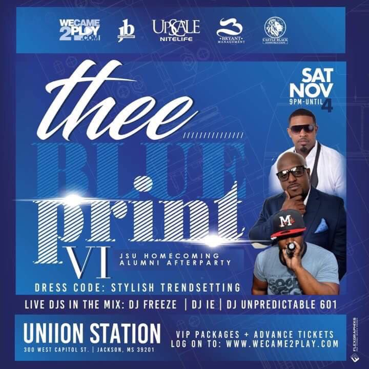 Thee Blueprint VI: JSU Homecoming After Party
