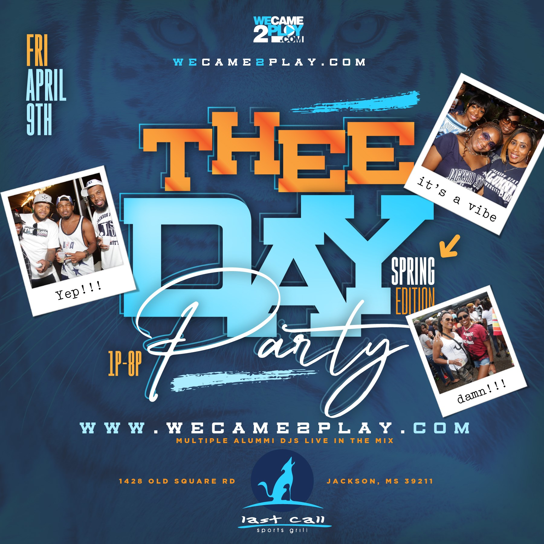 THEE DAY PARTY SPRING '21 EDITON