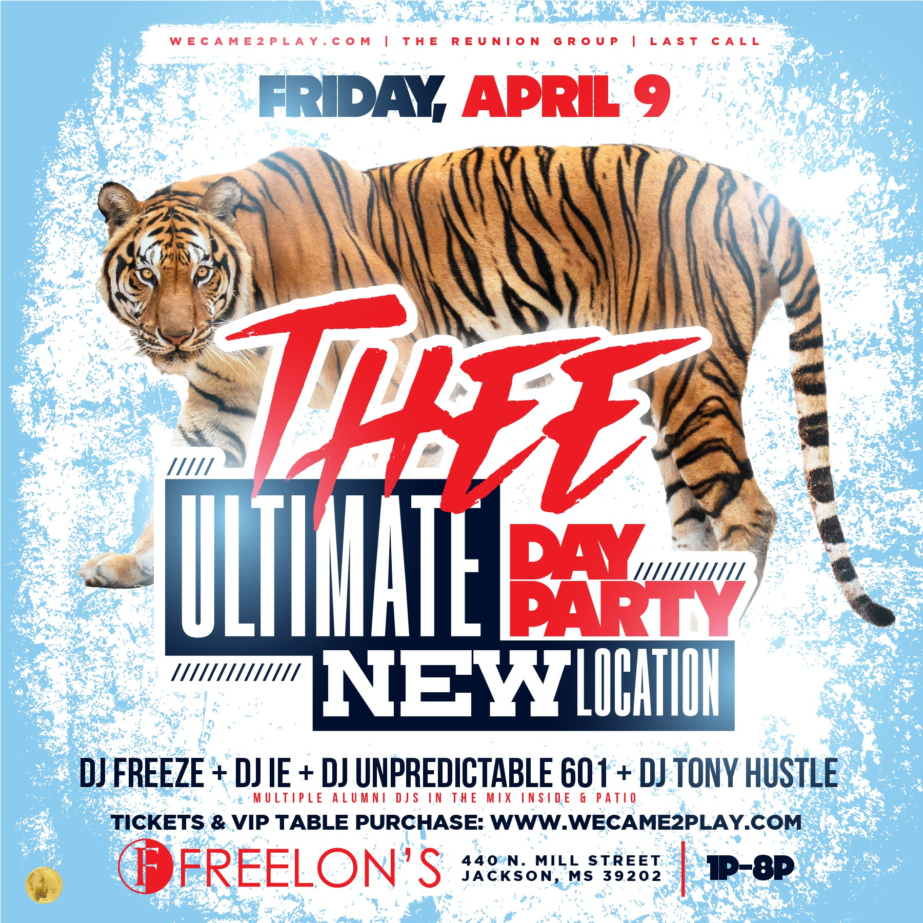 THEE ULTIMATE DAY PARTY SPRING '21 EDITON